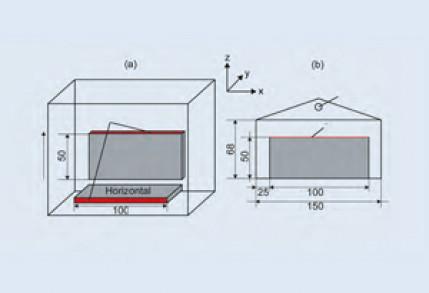 Untersuchung zum Vibrationsschweißen von laserstrahlgesinterten Bauteilen