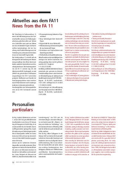 Ausgabe 1 (2007) Seite 12