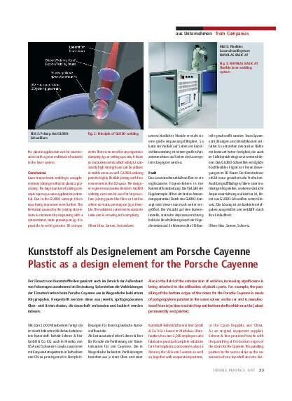 Ausgabe 1 (2007) Page 23