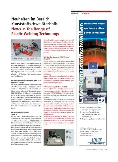 Ausgabe 1 (2007) Page 33