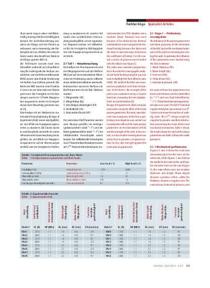 Ausgabe 1 (2007) Seite 45