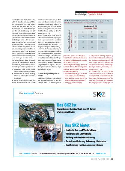 Ausgabe 1 (2007) Seite 69