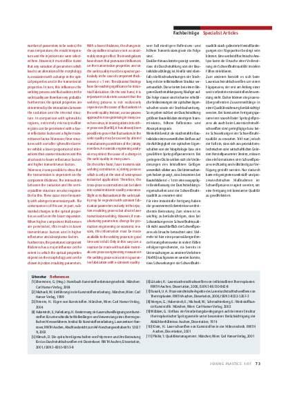 Ausgabe 1 (2007) Seite 73