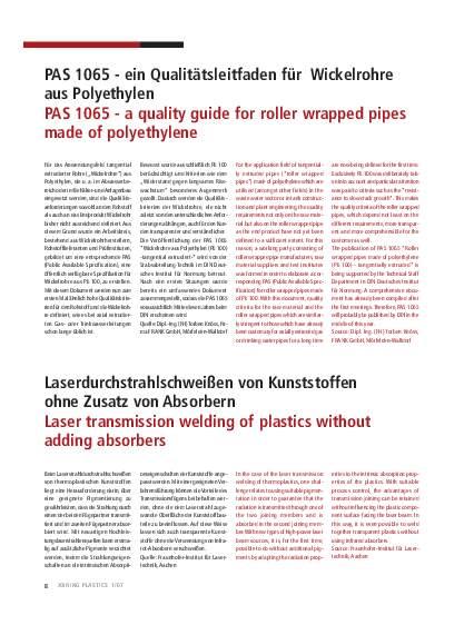 Ausgabe 1 (2007) Page 8