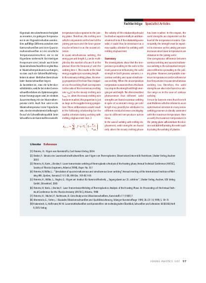 Ausgabe 1 (2007) Page 97
