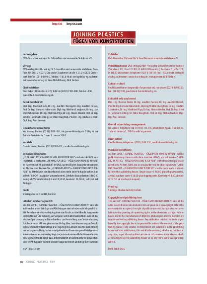 Ausgabe 1 (2007) Page 98