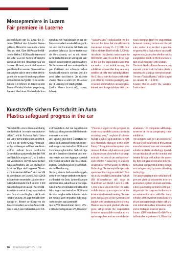 Ausgabe 1 (2008) Seite 20