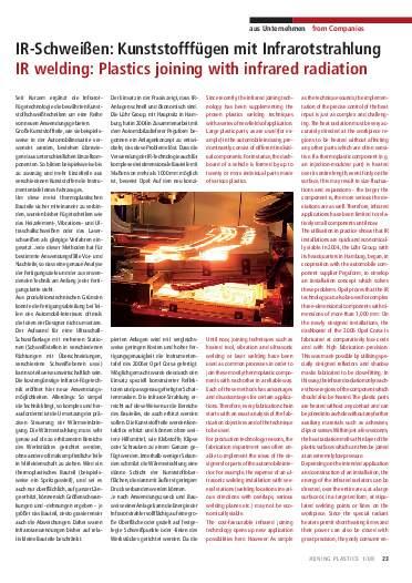 Ausgabe 1 (2008) Page 23