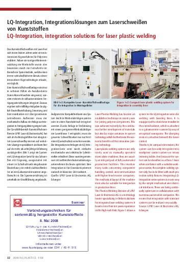 Ausgabe 1 (2008) Seite 32