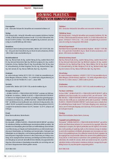 Ausgabe 1 (2008) Page 70