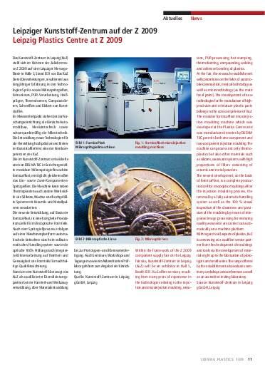 Ausgabe 1 (2009) Seite 11
