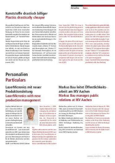 Ausgabe 1 (2009) Seite 15
