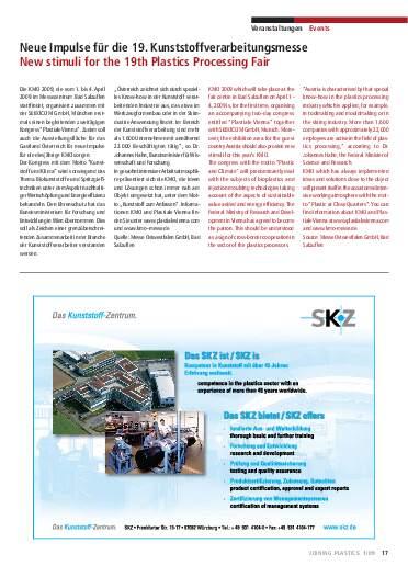 Ausgabe 1 (2009) Seite 17