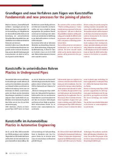 Ausgabe 1 (2009) Seite 18