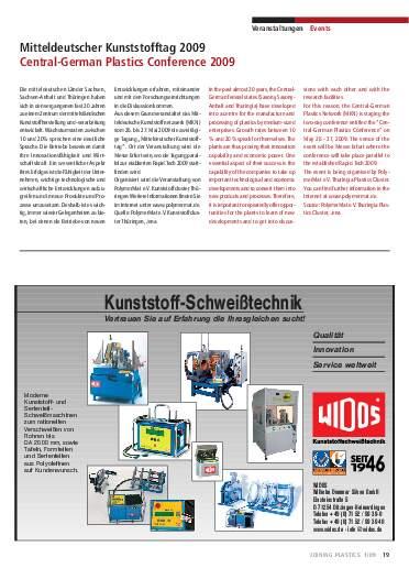 Ausgabe 1 (2009) Page 19