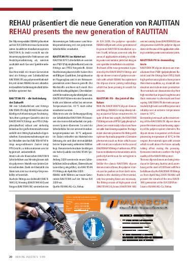 Ausgabe 1 (2009) Seite 20