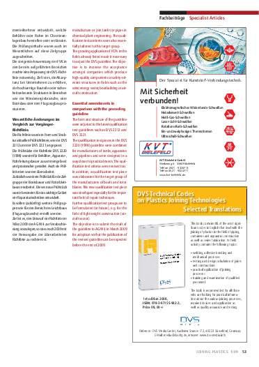Ausgabe 1 (2009) Seite 53