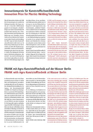 Ausgabe 1 (2009) Page 8