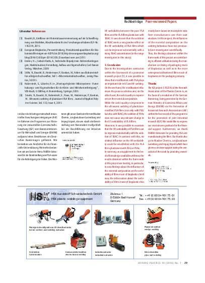 Ausgabe 1 (2016) Seite 29