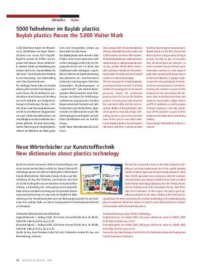 Ausgabe 2 (2009) Seite 72