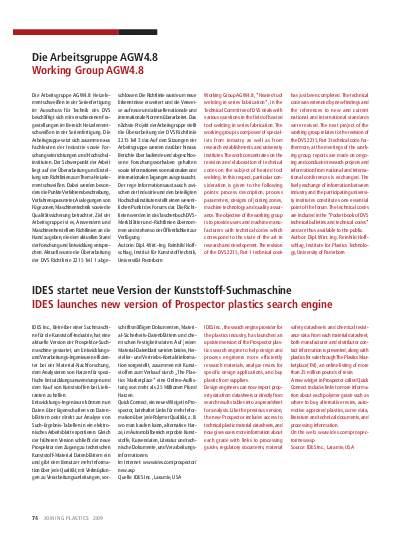 Ausgabe 2 (2009) Seite 74