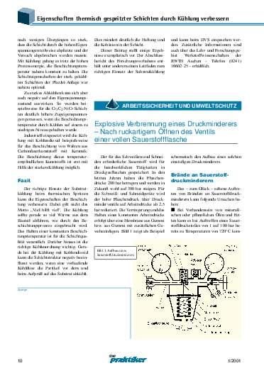 Ausgabe 1 (2001) Seite 10