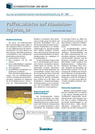 Ausgabe 1 (2001) Seite 16