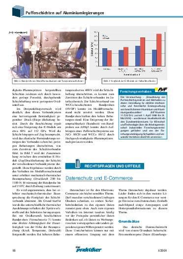 Ausgabe 1 (2001) Seite 18