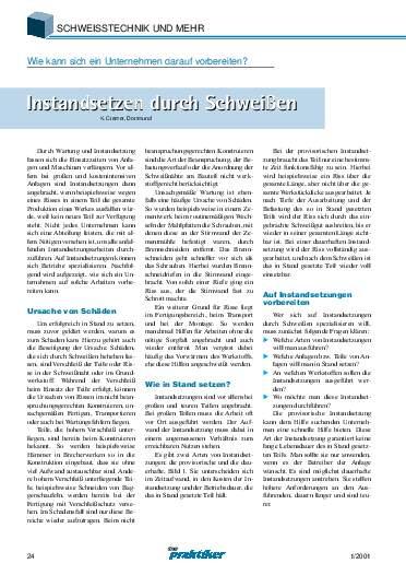 Ausgabe 1 (2001) Seite 24