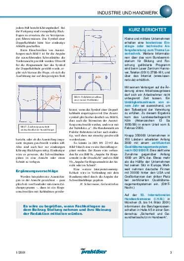 Ausgabe 1 (2001) Seite 3