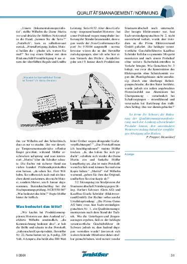 Ausgabe 1 (2001) Seite 31