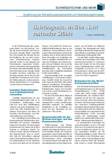 Ausgabe 1 (2002) Seite 13