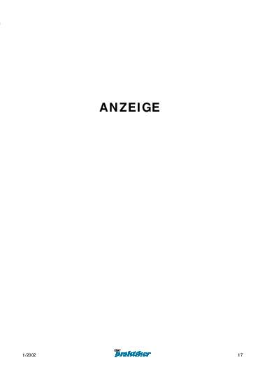 Ausgabe 1 (2002) Seite 17