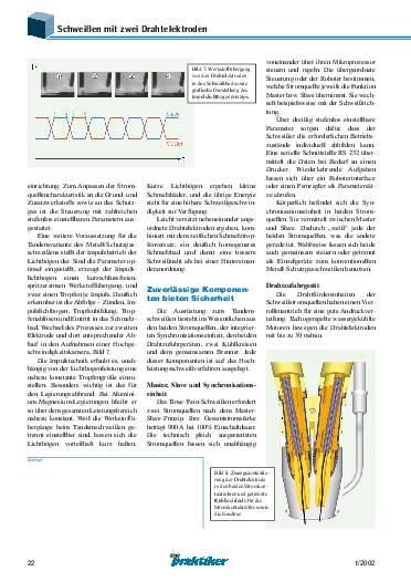 Ausgabe 1 (2002) Seite 22
