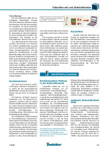 Ausgabe 1 (2002) Seite 23