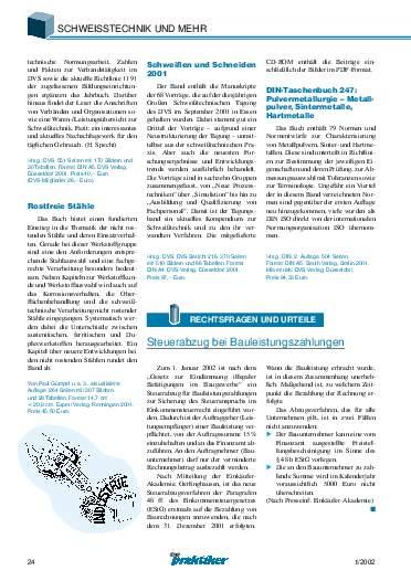 Ausgabe 1 (2002) Seite 24