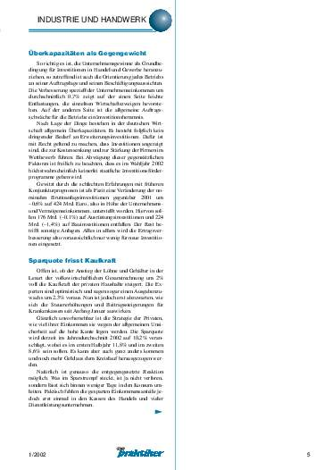 Ausgabe 1 (2002) Seite 5