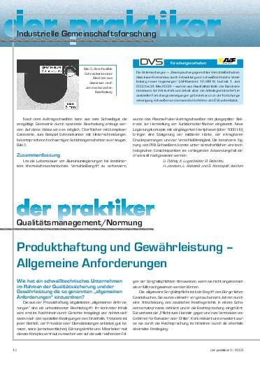 Ausgabe 1 (2003) Seite 14