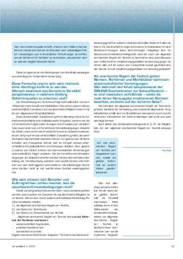 Ausgabe 1 (2003) Seite 15
