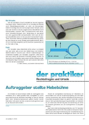 Ausgabe 1 (2003) Seite 27