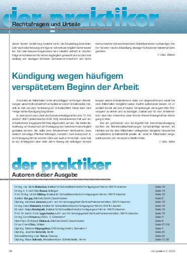 Ausgabe 1 (2003) Seite 28
