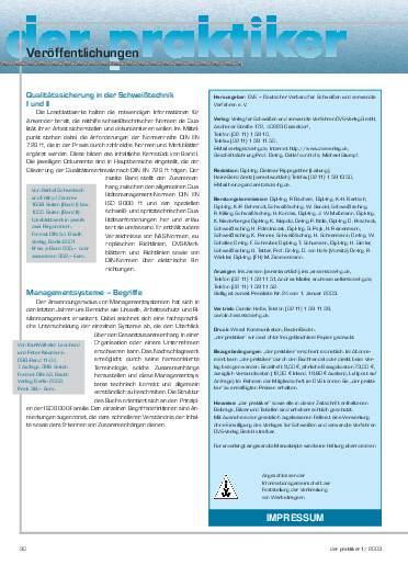 Ausgabe 1 (2003) Seite 30