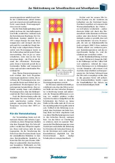 Ausgabe 10 (2001) Seite 419
