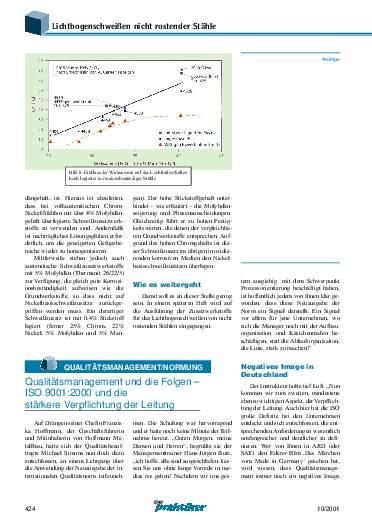 Ausgabe 10 (2001) Seite 424