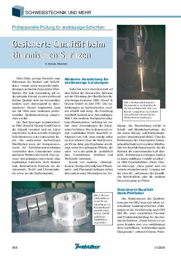 Ausgabe 11 (2001) Seite 458