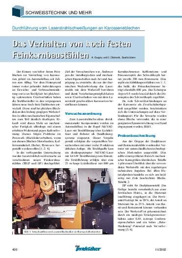 Ausgabe 11 (2002) Seite 400