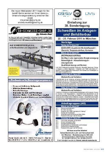 Ausgabe 11 (2010) Seite 433