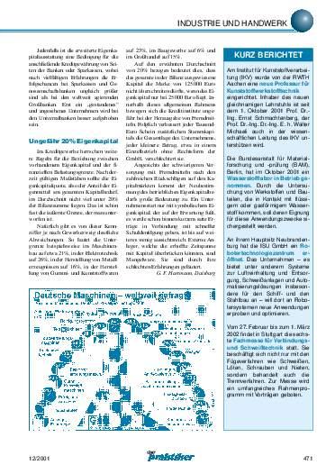 Ausgabe 12 (2001) Seite 471