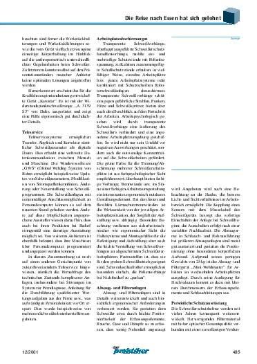 Ausgabe 12 (2001) Seite 485