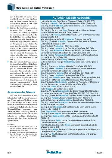 Ausgabe 12 (2001) Seite 520